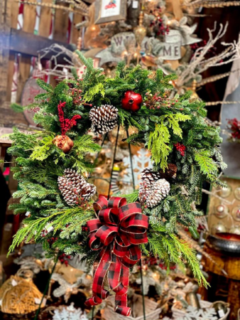 Fresh Christmas Wreath  Christmas