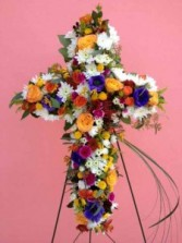 Fresh Cross Wreaths, and Crosses