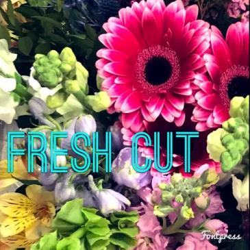 Fresh Cut - 333 Cut Flowers Wrapped