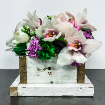 White Star Orchid Box