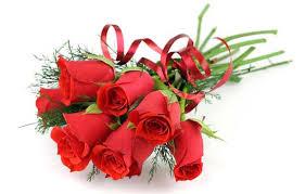 Fresh Cut Rose Bouquet Hand-Tied