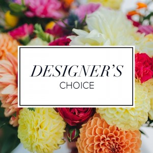 Fresh Floral Designers Choice  Fresh Floral Vase in Spanish Fork, UT | CARY'S DESIGNS WEDDINGS & EVENTS