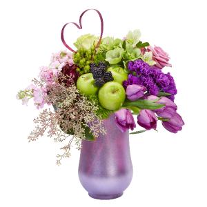 Fresh & Fabulous Romantic Bouquet Vase Arrangement  in Port Stanley, ON   FLOWERS BY ROSITA