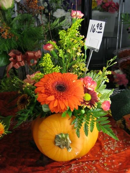 Fresh Fall Pumpkin Fresh Floral Design