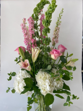 Fresh Floral Pinks (Standard Shown) Custom, Premium, Luxury