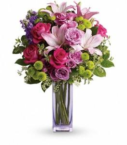 Fresh Flourish Bouquet by Enchanted Florist Flower Shop