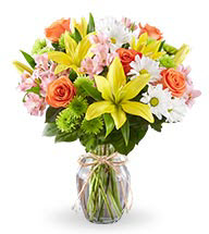 Spring Bouquet of Fresh Flowers Delivery