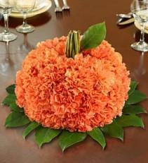 Fresh Flower Pumpkin Pumpkin