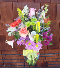 fresh for you mixed garden vase