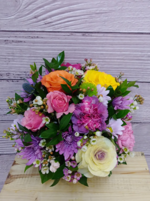 Fresh from the Garden arrangement in San Rafael, CA | BURNS FLORIST