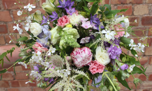 Fresh from the Garden Bridal Bouquet What's Your Vibe? in Canon City, CO   TOUCH OF LOVE FLORIST AND WEDDINGS