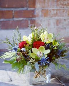 Fresh Holiday  Vase Arrangement