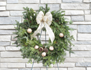 Fresh Holiday Wreath   in Port Huron, MI | CHRISTOPHER'S FLOWERS