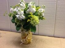 Fresh Lemonade Vase Arrangement