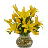 Fresh Lilies Arrangement