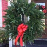 Fresh Live Wreath 22""