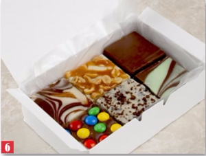 Fresh Made Fudge Gourmet Gift Item in Cedar City, UT | Boomer's Bloomers & The Candy Factory