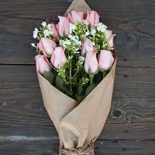 Fresh Market Pink Rose Bouquet