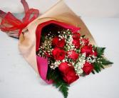 Fresh Market Red Rose Bouquet