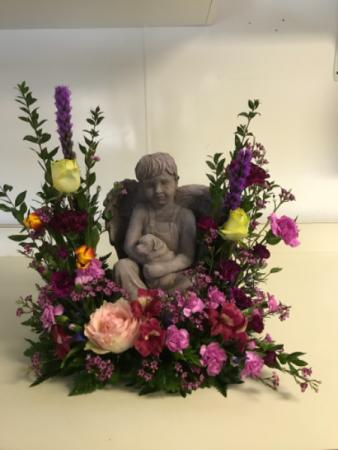 Fresh Memorial with Boy Memorial