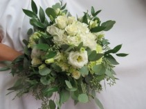 Fresh Mixed Bridal Bouquet Fresh Bridal Bouquet