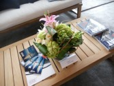 Fresh Mixed Flowers Coffee Tables