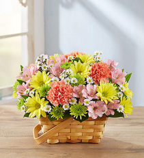 Fresh-Picked Basket Arrangement