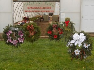 Fresh Pine Wreaths   in Jerusalem, OH | Malaga Garden Center