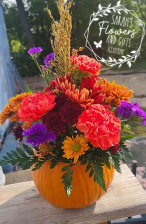 Fresh Pumpkin Arrangement