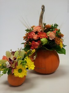 Harvest Pumpkin  Flower Arrangements