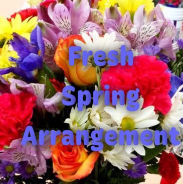 Fresh Spring Mixed Arrangement