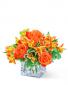 Fresh Tangerine Flower Arrangement