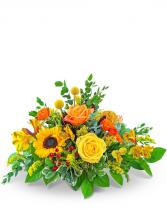 Fresh Thyme Centerpiece Flower Arrangement