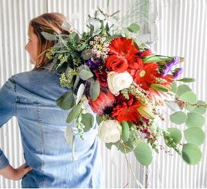 Fresh Wrap  Bouquet 2 in Dixon, IL | WEEDS FLORALS, DESIGN & DECOR