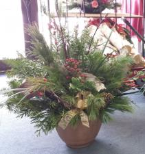Fresh Winter Outdoor Arrnagement Christmas