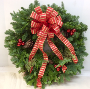 Fresh Winter Wreath  in Troy, MI | ACCENT FLORIST