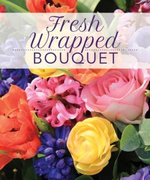 Fresh Wrapped Bouquet  in Hertford, NC | Planters Ridge Florist & Garden Center