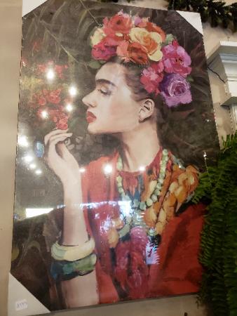 Frida wall canvas Giftware