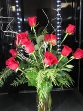 Friday Rose Day Dozen Red Roses