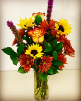 Friendly Fall Fall Mixed Arrangement