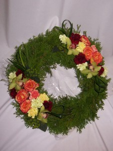 FRIENDLY TRIBUTE  WREATHS - Funeral Wreaths  Prince George BC: AMAPOLA BLOSSOMS