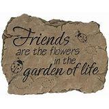 Friends Garden Stone