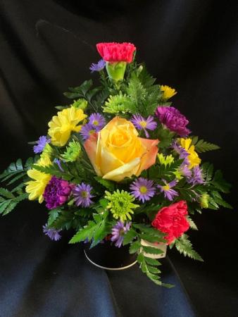 Friendship Rose Mug Arrangement