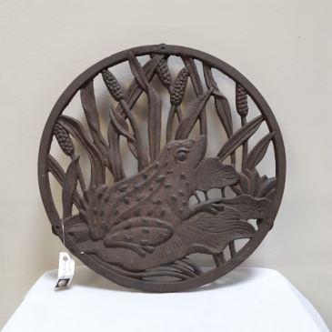 Frog Plant Stand Gift
