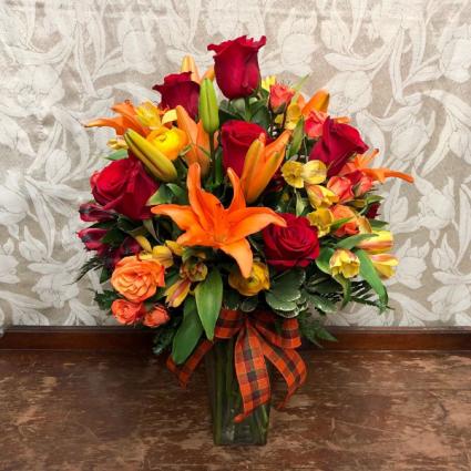 Orange Colored Sky Bouquet