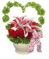 FROM MY HEART Valentine Arrangement