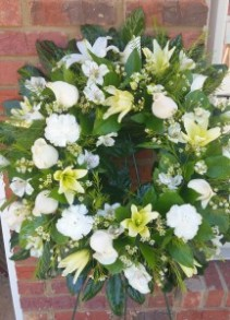 From Our Heart Sympathy Wreath