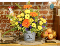 From the Farm Floral Arrangement