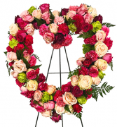 From the Heart Easel Arrangement