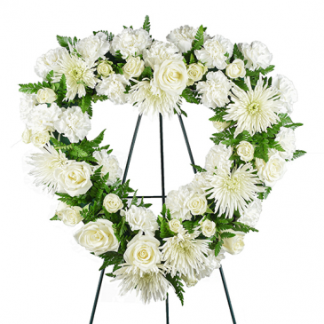From the Heart Sympathy Wreath